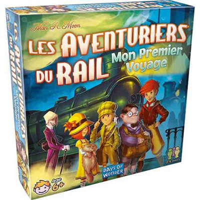 Aventuriers du Rail - Mon premier voyage