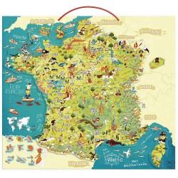 Carte de France Educative