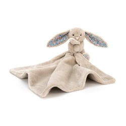 Blossom Beige Bunny Soother - 34 x 34 cm