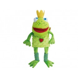 Marionnette Roi-grenouille