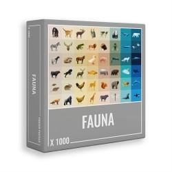 Puzzle 1000 pcs - Fauna -...