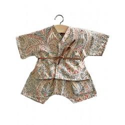 Ensemble Kimono short Yoko