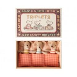 BABY MICE, TRIPLETS IN...