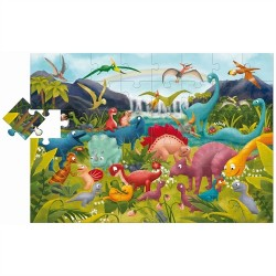 GIANT PUZZLE DINOSAURES -...