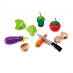 Légumes du jardin à découper
