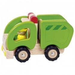 Camion poubelle - 18,5 x...